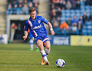 Gillingham forward George Williams during the Sky Bet League 1 match between Gillingham and Crewe Alexandra at the MEMS Priestfield Stadium, Gillingham, England on 12 March 2016. Photo by David Charbit.