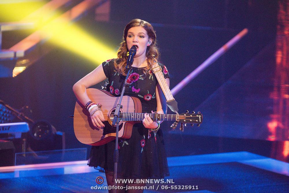 NLD/Amsterdam/20131129 - The Voice of Holland 2013, 3de show, Märel Bijveld