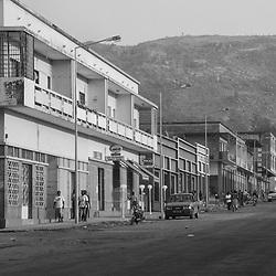 A cidade de Waku Kungo, Província do Kwanza sul, Angola. 2007
