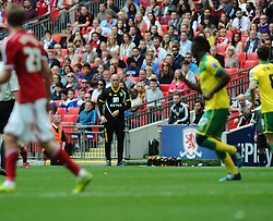 Norwich City Manager, Alex Neil - Photo mandatory by-line: Joe Meredith/JMP - Mobile: 07966 386802 - 25/05/2015 - SPORT - Football - London - Wembley Stadium - Middlesbrough v Norwich - Sky Bet Championship - Play-Off Final