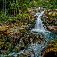 Ohanapecosh area Waterfalls