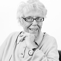 Mary served as a hairdresser and member of the The Auxiliary Territorial Service (ATS) which was the women's branch of the British Army during the Second World.   War.  Mary is blind and is a regular visitor to the Scottish War Blinded centre. Veterans Project UK, Edinburgh, Scotland