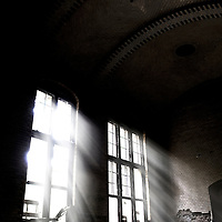 Old hospital, found near Berlin, use by the Soviets after the war.