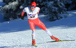 Slovenian cross-country skier Domen Potocnik at 10th OPA - Continental Cup 2008-2009, on January 17, 2009, in Rogla, Slovenia.  (Photo by Vid Ponikvar / Sportida)