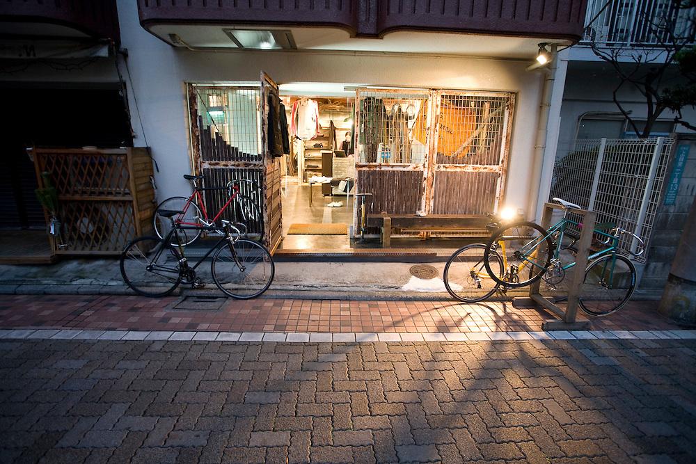 shop PEdALED  Naka  Megro .Tokyo Style map