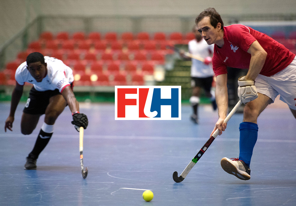 BERLIN - Indoor Hockey World Cup<br /> Czech Republic - Trinidad &amp; Tobago<br /> foto: JAHODA Tomas<br /> WORLDSPORTPICS COPYRIGHT FRANK UIJLENBROEK