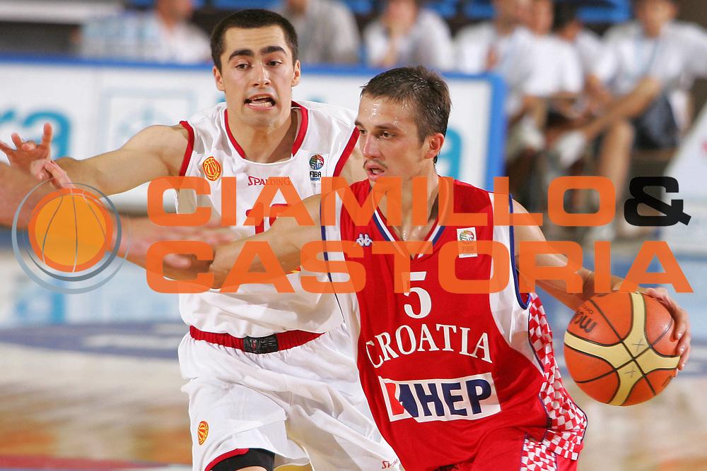 DESCRIZIONE : Gorizia Nova Gorica U20 European Championship Men Campionato Europeo<br /> GIOCATORE : Josip Blajic <br /> SQUADRA : Croatia Croazia <br /> EVENTO : Gorizia Nova Gorica U20 European Championship Men Campionato Europeo<br /> GARA : Fyrom Macedonia Croatia Croazia<br /> DATA : 08/07/2007<br /> CATEGORIA : Palleggio<br /> SPORT : Pallacanestro <br /> AUTORE : Agenzia Ciamillo-Castoria/S.Silvestri