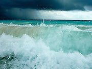 Waves at Tulum, Mexico
