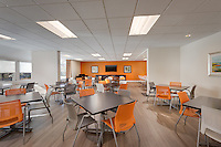 Interior image of the Community Room at the Allendale Apts in Baltimore Maryland by Jeffrey Sauers of Commercial Photographics, Architectural Photo Artistry in Washington DC, Virginia to Florida and PA to New England