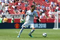July 22, 2018 - Santa Clara, California, United States - Santa Clara, CA - Sunday July 22, 2018: Luis Felipe during a friendly match between the San Jose Earthquakes and Manchester United FC at Levi's Stadium. (Credit Image: © Maciek Gudrymowicz/ISIPhotos via ZUMA Wire)