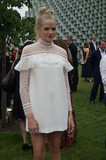 ISABELLA CALTHORPE, 2016 SERPENTINE SUMMER FUNDRAISER PARTY CO-HOSTED BY TOMMY HILFIGER. Serpentine Pavilion, Designed by Bjarke Ingels (BIG), Kensington Gardens. London. 6 July 2016