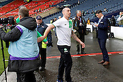 Celtic's Scott Brown (8) before the Betfred Scottish Cup  Final match between Aberdeen and Celtic at Hampden Park, Glasgow, United Kingdom on 27 November 2016. Photo by Craig Galloway.