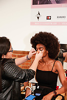 Backstage during Klarna STYLE360 NYFW Hosts S by Serena Fashion Show