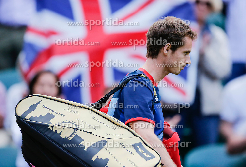 Olympic Games London 2012, Tennis men.Andy MURRAY, GBR.© pixathlon