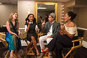 Step Up Women's Network host Alison Deyette interviews Yara Shahidi, Marcus Scribner and Tracee Ellis Ross