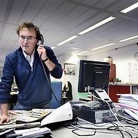 Nederland, Haarlem , 23 januari 2014.<br /> Arthur de Mijttenaere, journalist bij het Haarlems Dagblad.<br /> Foto:Jean-Pierre Jans
