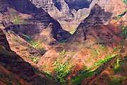 Waimea Canyon, Waimea Canyon State Park, Island of Kauai, Hawaii USA