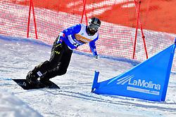 POZZERLE Manuel, SB-UL, ITA, Snowboard Cross at the WPSB_2019 Para Snowboard World Cup, La Molina, Spain