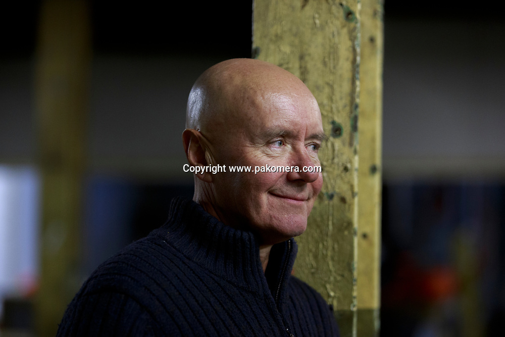 Author Irvine Welsh pictured before an event at Leith's Biscuit Factory presented by Edinburgh International Book Festival and Neu. Reeky to introduce his new novel, Dead Men's Trousers. Fast and Furious, scabrously funny ad weirdly moving, this is a spectacular return of the crew from Trainspotting. Pako Mera