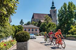05.07.2017, Altheim, AUT, Ö-Tour, Österreich Radrundfahrt 2017, 3. Etappe von Wieselburg nach Altheim (226,2km), im Bild v.l.: Maximilian Hammerle (AUT, Team Vorarlberg), Peter Kusztor (HUN, Amplatz BMC), Jan Tratnik (SLO, CCC Sprandi Polkowice) // f.l.: Maximilian Hammerle (AUT Team Vorarlberg) Peter Kusztor (HUN Amplatz BMC) Jan Tratnik (SLO CCC Sprandi Polkowice) during the 3rd stage from Wieselburg to Altheim (199,6km) of 2017 Tour of Austria. Altheim, Austria on 2017/07/05. EXPA Pictures © 2017, PhotoCredit: EXPA/ JFK