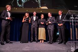 Equi Gala, Paard van het jaar Igor, Verlooy Jos, Janssen Graciela, Van Waes Maarten, Haelterman Michel<br /> Equigala - Brussel 2020<br /> © Hippo Foto - Dirk Caremans<br /> 21/01/2020