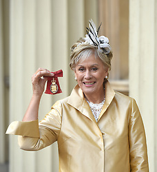 December 20, 2018 - London, London, United Kingdom - Image licensed to i-Images Picture Agency. 20/12/2018. London, United Kingdom. Dame Kiri Te Kanawa  with her award after an Investiture at Buckingham Palace in London. (Credit Image: © Pool/i-Images via ZUMA Press)