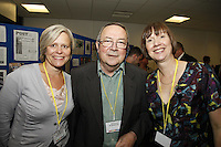 Andrea Oliver, Peter Scaping and Carole Lampard. The BRIT School Industry Day, Croydon, London..Thursday, Sept.22, 2011 (John Marshall JME)