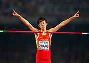 BEIJING 2015-08-30<br /> VM FRIIDROTT BEIJING NATIONAL STADIUM<br /> Guowei Zhang, h&ouml;jdhopp
