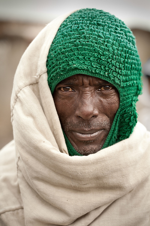 Muslim man from Mehal Meda on the Guassa Plateau in the Ethiopian Highlands