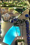 Beverly Hills Plaza Hotel Courtyard And Pool