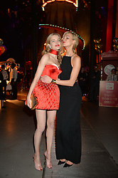 Left to right, NATALIA VODIANOVA and KARLIE KOSS at 'The World's First Fabulous Fund Fair' in aid of the Naked Heart Foundation hosted by Natalia Vodianova and Karlie Kloss at The Roundhouse, Chalk Farm Road, London on 24th February 2015.