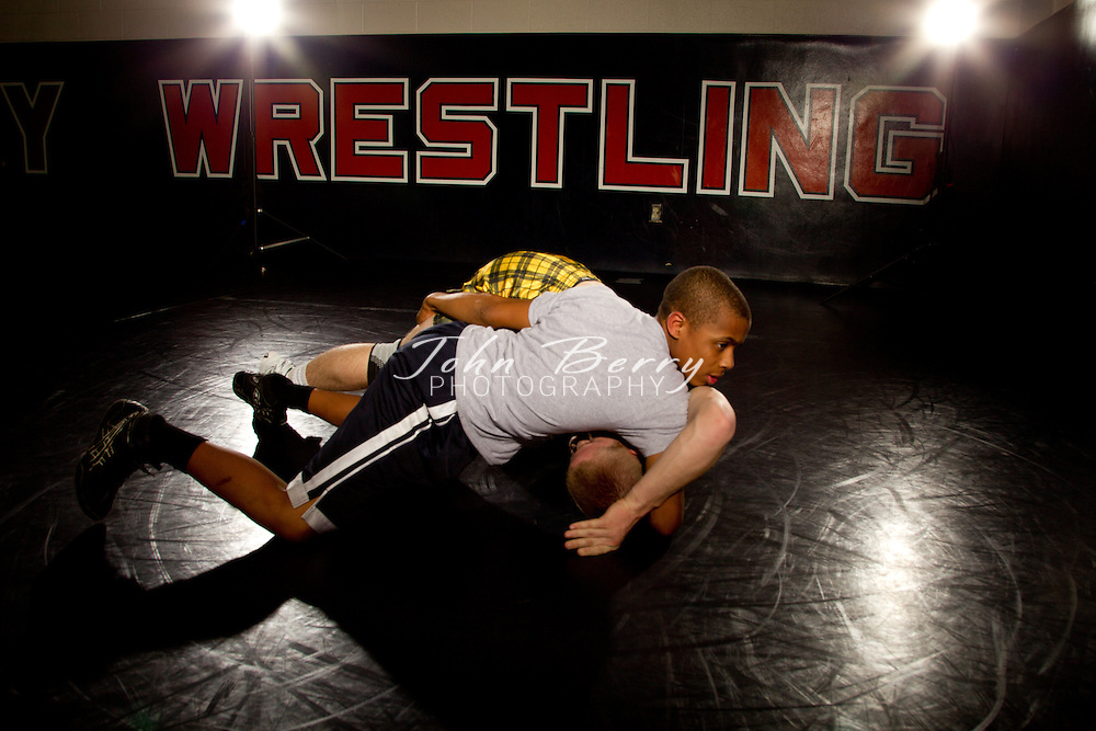 January/18/12:  Orange County High School Wrestlers for Scrimmageplay