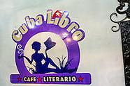 Cafe Cuba Libro, Havana Vedado, Cuba.