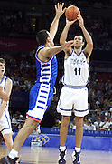 Olimpiadi Sydney 2000<br /> Italia - Jugoslavia<br /> Nella foto: Andrea Meneghin
