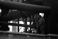 Fitter working at BSC River Don Works Sheffield 16/09/1982