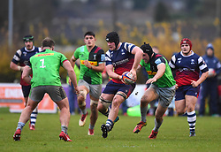 John Hawkins of Bristol Bears United - Mandatory by-line: Paul Knight/JMP - 02/12/2018 - RUGBY - Clifton RFC - Bristol, England - Bristol Bears United v Harlequins - Premiership Rugby Shield