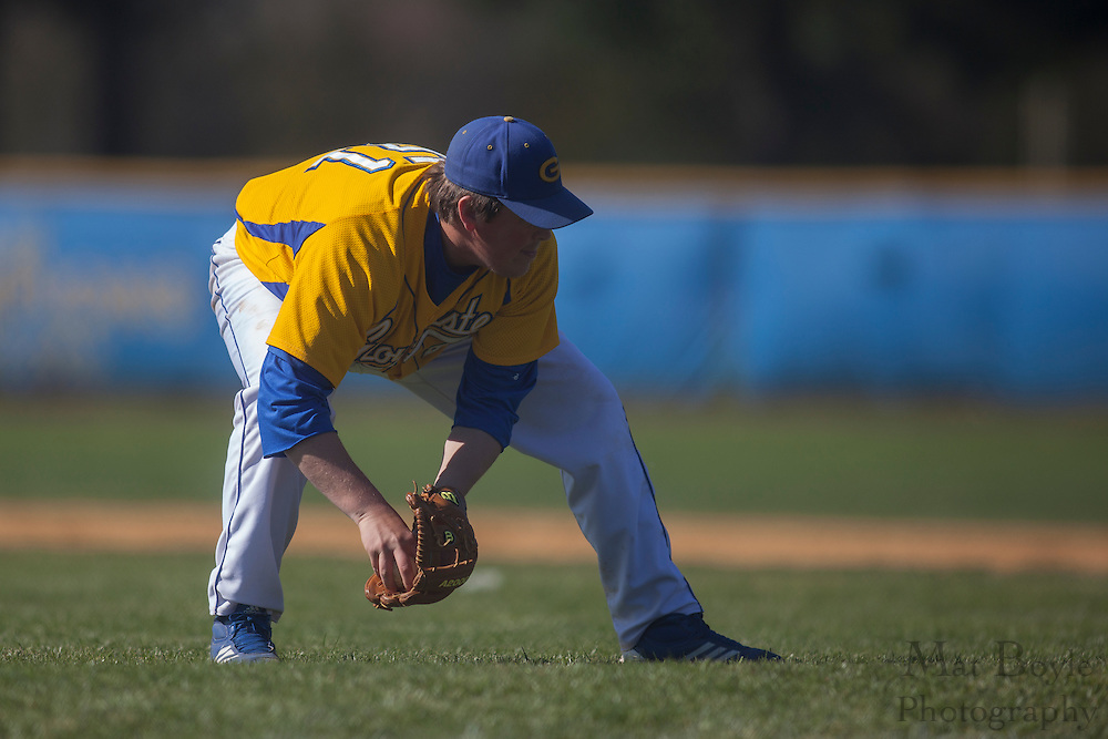 Gloucester County College Freshman Right Handed Pitcher Andrew Owens (51); Rowan University JV baseball at Gloucester County College in Sewell, NJ on April 3, 2012.  (photo / Mat Boyle)