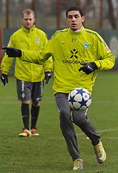 21.11.2010, Trainingsgelaende Werder Bremen, Bremen, GER, 1. FBL, Training Werder Bremen, im Bild Leon-Aderemi Balogun (Bremen #37)   EXPA Pictures © 2010, PhotoCredit: EXPA/ nph/  Frisch****** out ouf GER ******