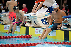 SMETANINE David, JO Giseong FRA, KOR at 2015 IPC Swimming World Championships -  Men's 50m Freestyle S4