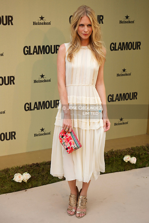 Popy Delevigne attends Glamour magazine 10th Anniversary party at Italian Embassy in Madrid, Spain