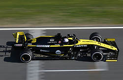 February 26, 2019 - Barcelona, Catalonia, Spain - the Renault of Daniel Ricciardo during the Formula 1 test in Barcelona, on 26th February 2019, in Barcelona, Spain. (Credit Image: © Joan Valls/NurPhoto via ZUMA Press)