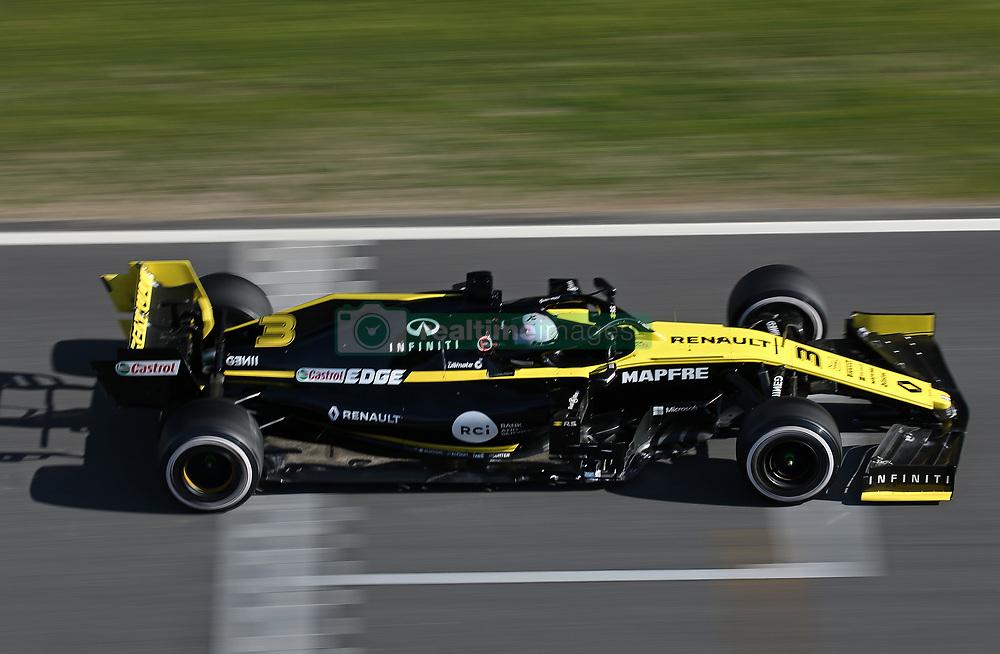 February 26, 2019 - Barcelona, Catalonia, Spain - the Renault of Daniel Ricciardo during the Formula 1 test in Barcelona, on 26th February 2019, in Barcelona, Spain. (Credit Image: © Joan Valls/NurPhoto via ZUMA Press)