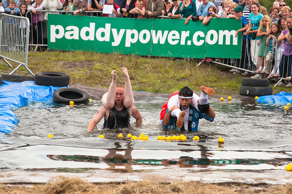Irish Wife-Carrying Championship 2010, Sneem, County Kerry, Ireland