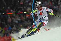 "29.01.2019, Planai, Schladming, AUT, FIS Weltcup Ski Alpin, Slalom, Herren, 1. Lauf, im Bild Julien Lizeroux (FRA) // Julien Lizeroux of France in action during his 1st run of men's Slalom ""the Nightrace"" of FIS ski alpine world cup at the Planai in Schladming, Austria on 2019/01/29. EXPA Pictures © 2019, PhotoCredit: EXPA/ Erich Spiess"