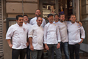 Still image from the Pastificio di Martino Pasta chef competition in New York, Primo di Manhattan