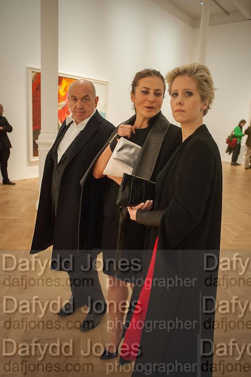 ALEXANDER KRASNER; ELLA KRASNER; ELIZABETH ESTEVE, Panta Rhei. An exhibition of work by Keith Tyson. The Pace Gallery. Burlington Gdns. 6 February 2013.