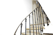 stairs metal railing