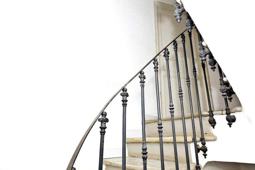 stairs metal railing