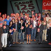 NLD/Amsterdam/20120911- Presentatie DVDbox 125 jaar Carre, groepsfoto