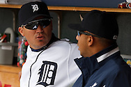 April 29, 2010:  Detroit Tigers' Magglio Ordonez (30) during the MLB baseball game between the Minnesota Twins vs Detroit Tigers at  Comerica Park in Detroit, Michigan. Tigers defeated the Twins 3-0.